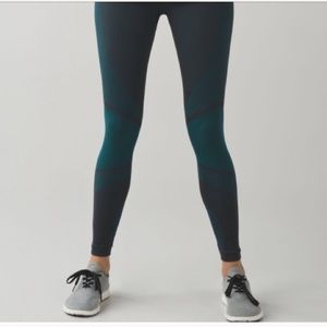 Lululemon About That Base Tight in Forage Teal